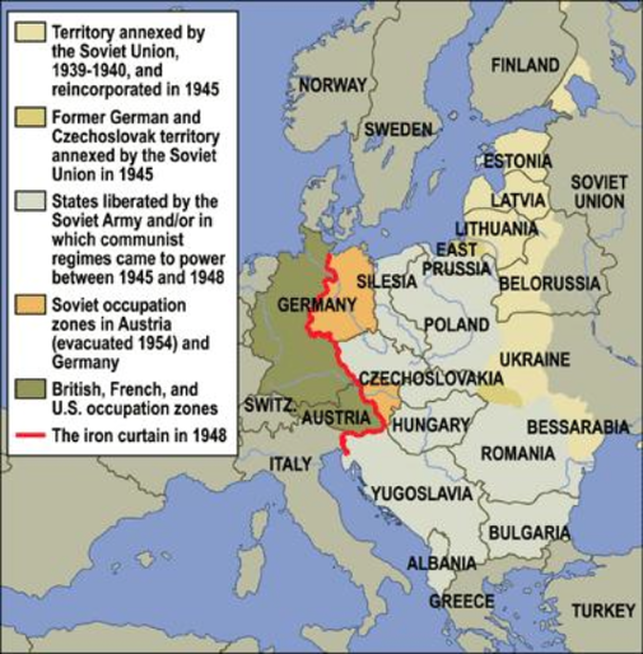 The devastation of europe and japan world war ii divisions within europe after the war came to an end gumiabroncs Images